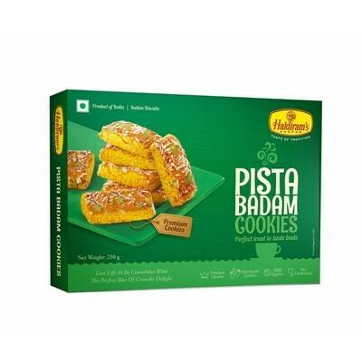 HALDIRAM'S PISTA BADAM BISCUITS 250GM