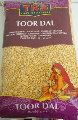 TRS TOOR DALL PLAIN 2KG