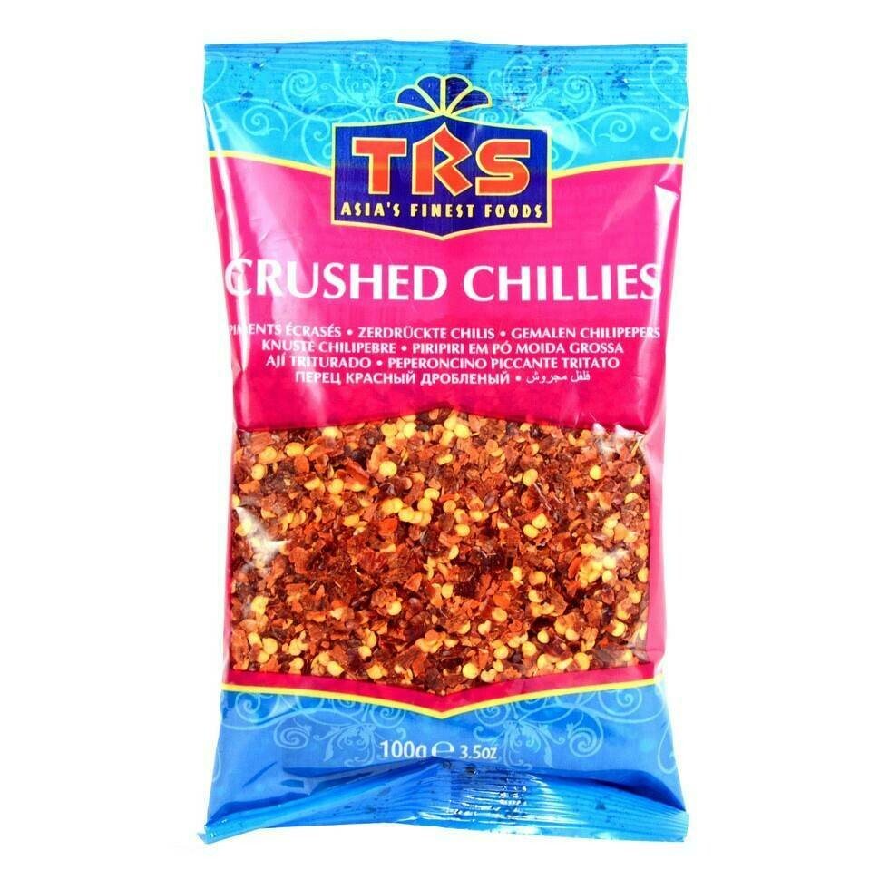 TRS CHILLI CRUSHED 100GM