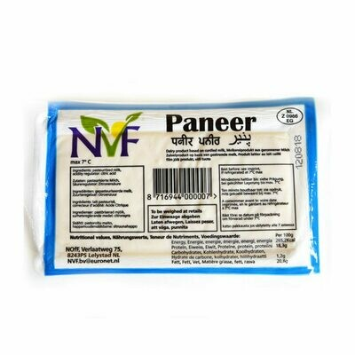 NVF Paneer 8€/kg (Delivery possible for Brussels and Gent only!)