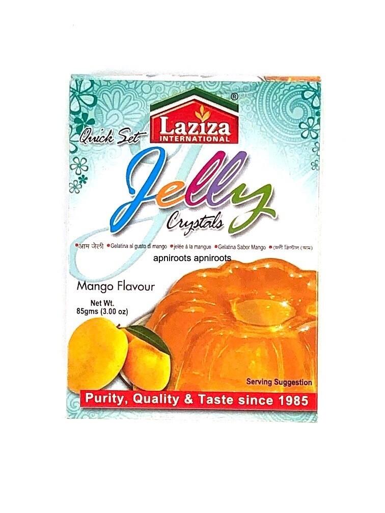 LAZIZA JELLY MANGO 85GM