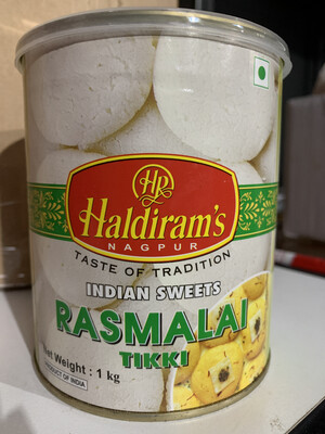 HALDIRAM'S RASMALAI TIKKI 1KG