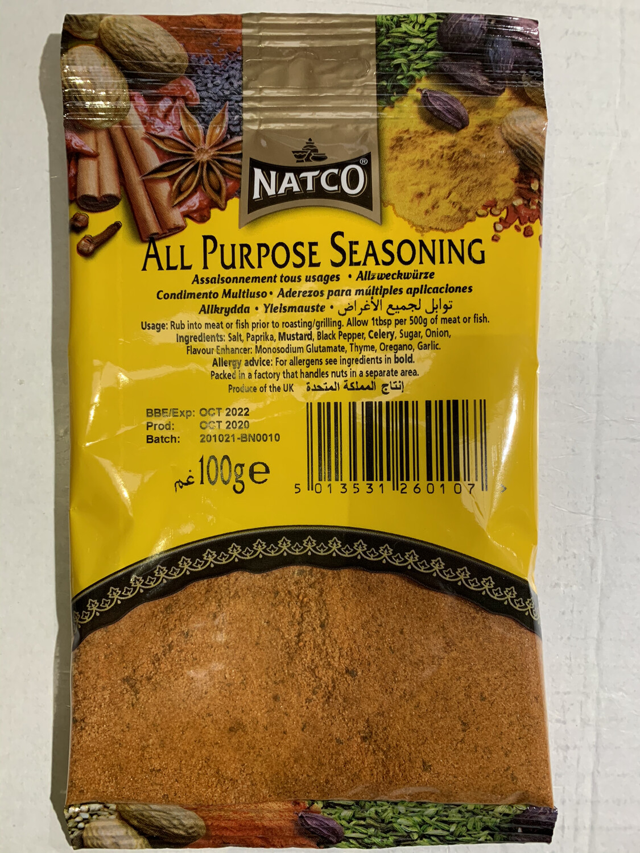 NATCO ALL PURPOSE SEASONING 100GM