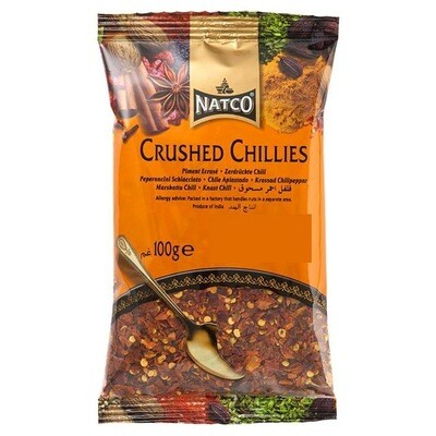 NATCO CHILLI CRUSHED 100GM