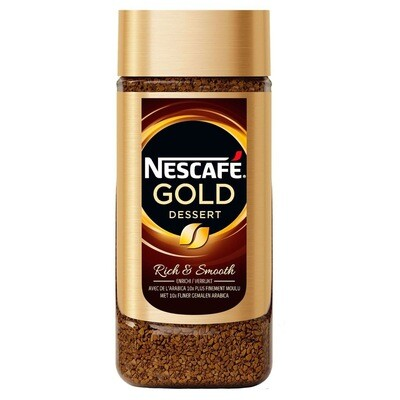 NESCAFE GOLD DESSERT COFFEE 200GM