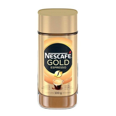 NESCAFE GOLD ESPRESSO 100GM