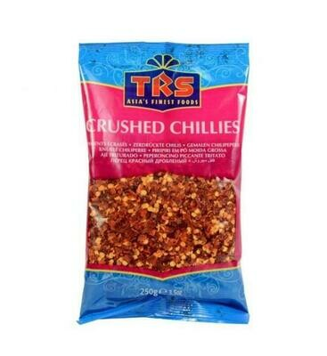 TRS CHIILI CRUSHED EXTRA HOT 250GM