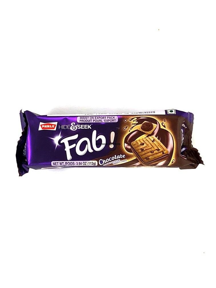 PARLE HIDE AND SEEK FAB CHOCOLATE BISCUITS 112GM