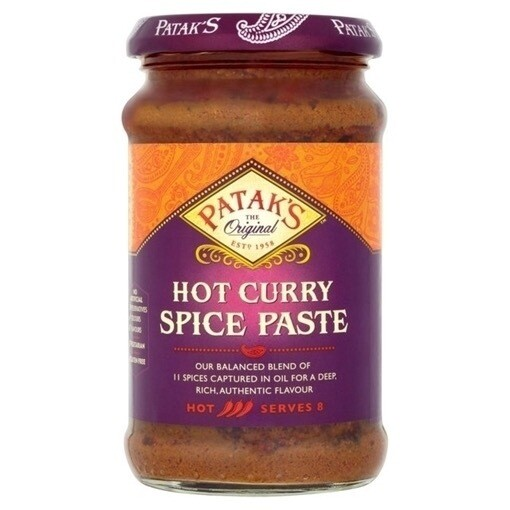 PATAK'S HOT CURRY SPICE PASTE 283GM