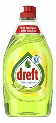 DREFT HAND DISHWASH EXTRA HYGINE LIME 440ML