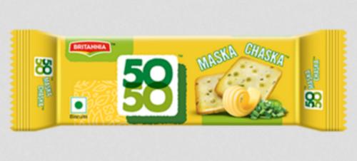 BRITANNIA MASKA CHASKA CRACKERS 62GM