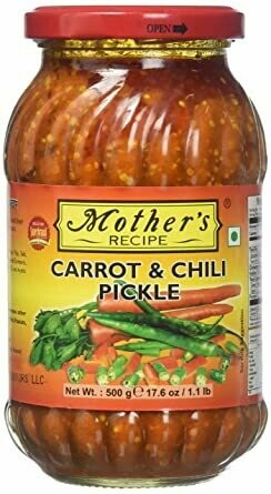 MOTHER'S CARROT AND CHILLY PICKLE 500GM