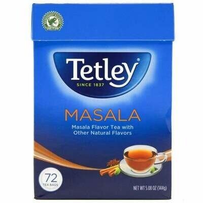 TETLEY MASALA TEA BAGS 72'S 144GM