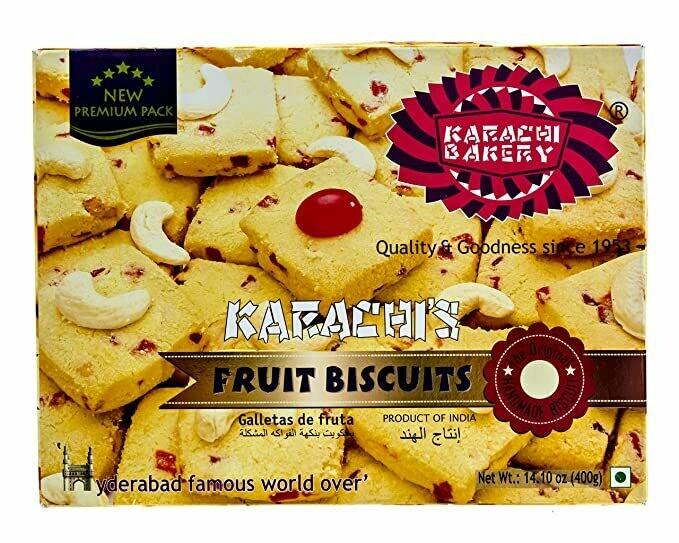 KARACHI BAKERY FRUIT BISCUITS 400GM