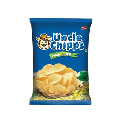 UNCLE CHIPS SALTED 55 GM