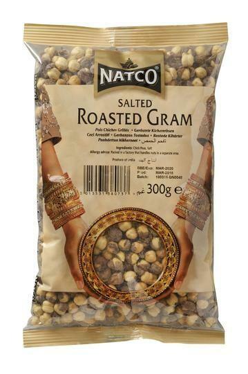 NATCO GRAM ROASTED SALTED 300G
