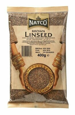 NATCO LINSEED BROWN 400G