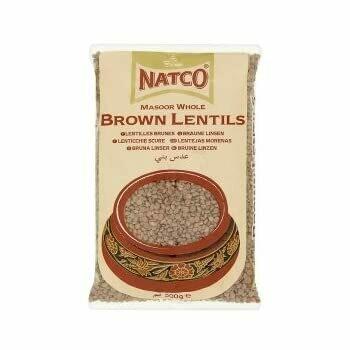 NATCO BROWN LENTILS 2KG