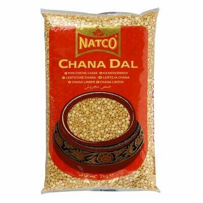 NATCO CHANA DALL POLISHED 2KG