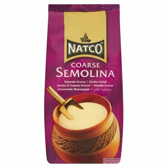 NATCO SEMOLINA COARSE 500G