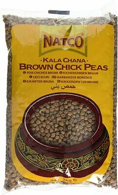 NATCO KALA CHANA (BROWN CHICK PEAS) 2KG