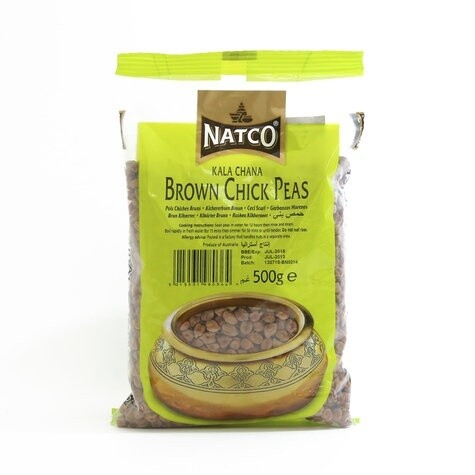 NATCO KALA CHANA (BROWN CHICK PEAS) 500G