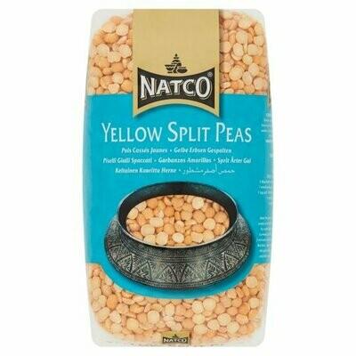 NATCO YELLOW SPLIT PEAS 1KG