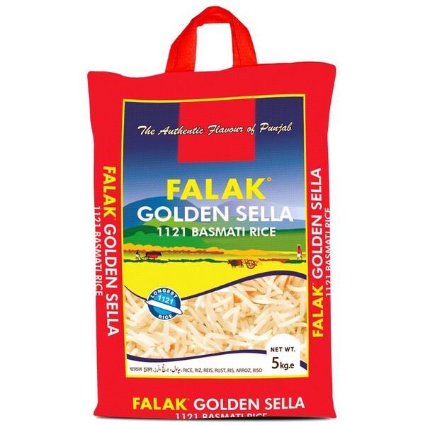 FALAK GOLDEN SELLA 1121 BASMATI RICE 5KG