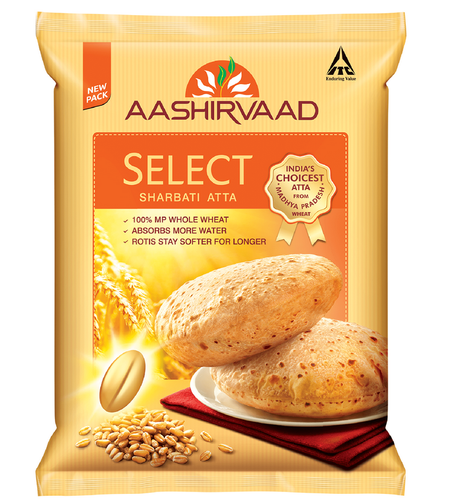 AASHIRVAAD SELECT ATTA 2KG (EXPORT PACK)