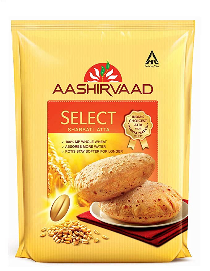 AASHIRVAAD SELECT ATTA 5KG (EXPORT PACK)