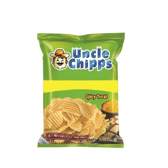 UNCLE CHIPS SPICY AND SALTED 55GM