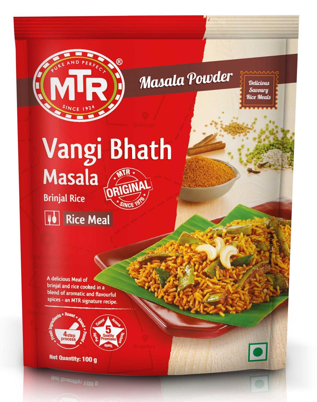 MTR VANGI BHATH POWDER 100GM