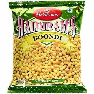 HALDIRAM'S BOONDI PLAIN 200G (EXPORT PACK)