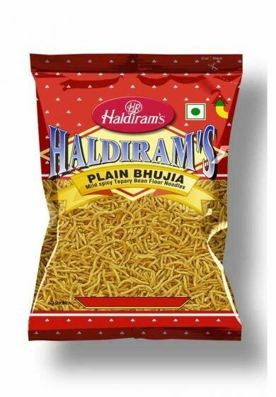 HALDIRAM'S BHUJIA PLAIN 200G (EXPORT PACK)