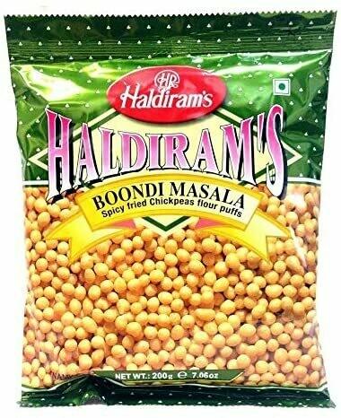 HALDIRAM'S BOONDI MASALA 200G (EXPORT PACK)
