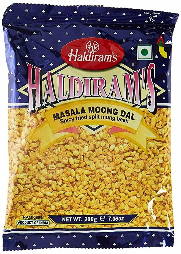 HALDIRAM'S MOONG DAL MASALA 200G (EXPORT PACK)