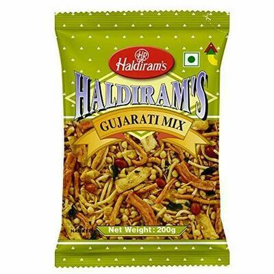 HALDIRAM'S GUJARATI MIXTURE 200G (EXPORT PACK)