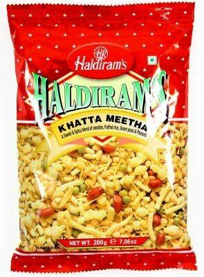 HALDIRAM'S KHATTA MEETHA 200G (EXPORT PACK)