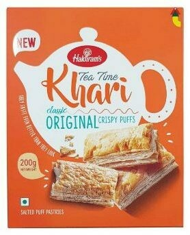 HALDIRAM'S PLAIN KHARI 200G (EXPORT PACK)