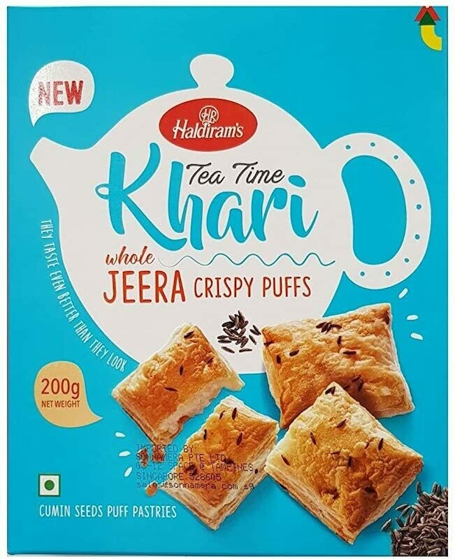 HALDIRAM'S JEERA KHARI 200G (EXPORT PACK)