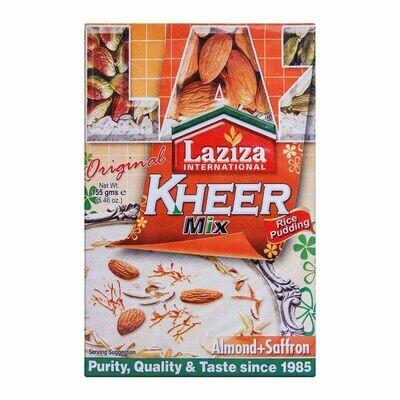 LAZIZA KHEER MIX ALMONDS & SAFFRON 155G