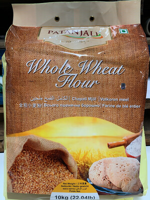 PATANJALI WHOLE WHEAT FLOUR 10KG