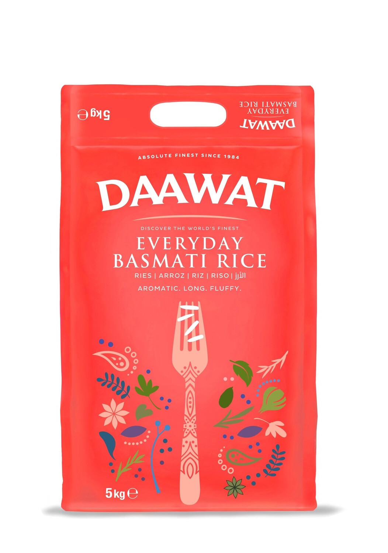 DAAWAT EVERYDAY BASMATI RICE 5KG