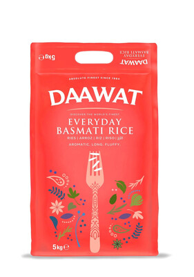 DAAWAT EVERYDAY BASMATI RICE 5KG