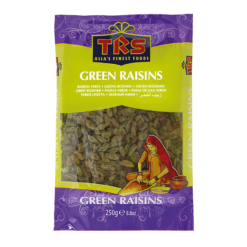 TRS GREEN RAISINS 250GM