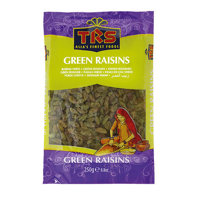 TRS GREEN RAISINS 250GM