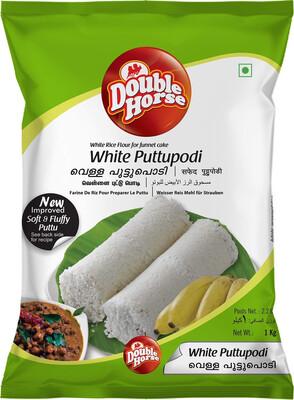 DOUBLE HORSE WHITE PUTTUPODI 1KG