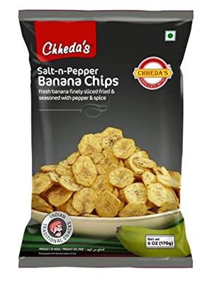 CHHEDA'S SALT & PEPPER CHIPS 170GM