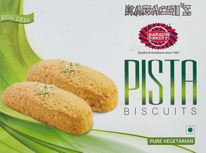 KARACHI BAKERY PISTA BISCUITS 250GM
