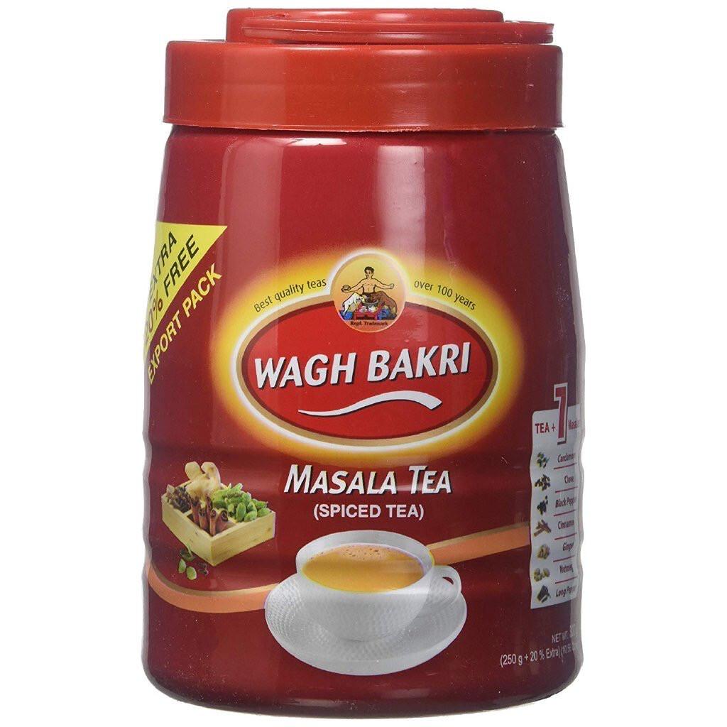 WAGHBAKRI MASALA TEA JAR 250GM